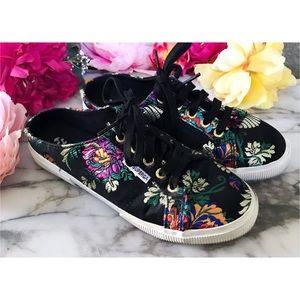 Superga 2288 Korelaw Brocade floral Mule Sneakers